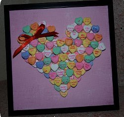 Conversation Candy Heart Picture