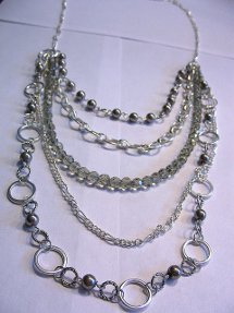 Chain Gang Layered Necklace
