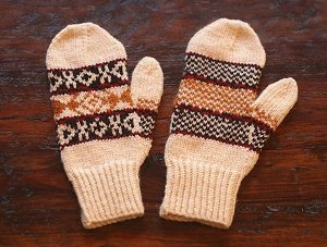 Mad Men Mittens