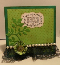 Enviable Cupcake Liner Card