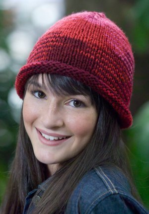 Knitted Brim Hat