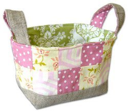 Handy Fabric Easter Basket