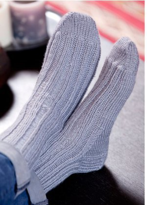 Traditional Knitted Socks
