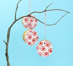 Valentine Cookie Ornaments