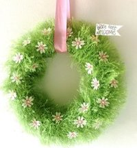 The Grass is Greener Wreath