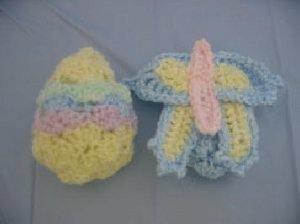 Easter Butterfly Crochet Pattern