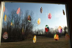 Easter Egg Sun Catchers