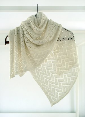 Bamboo Wedding Shawl