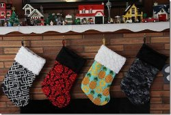 Lined Christmas Stockings