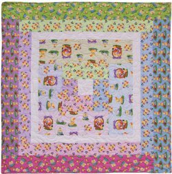 Easter Parade Lap Quilt
