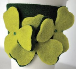 St. Patrick's Day Clover Cozies