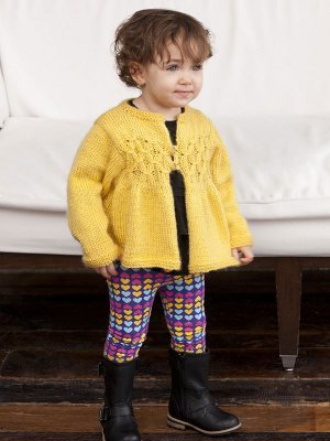 Sweet as Sunshine Baby Sweater