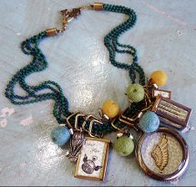 Time Flies Book Locket Necklace
