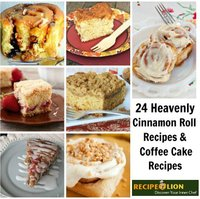 23 Heavenly Cinnamon Roll Recipes & Coffee Cake Recipes