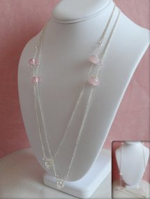 Pastel Murano Bead Necklace