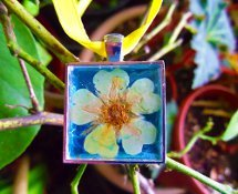 Pressed Flower Pendant Video Tutorial
