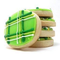 Preppy St. Patty's Cookies