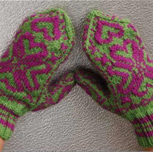 Wicked knit mittens for Fave crafts knitting patterns