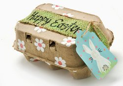 Recycled Egg Hunt Treasure Chest