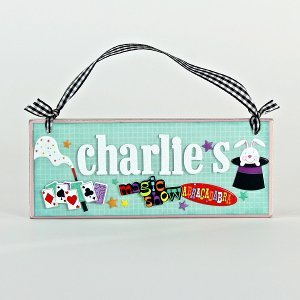 Personalized Name Plate Favecrafts Com