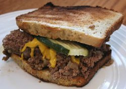 Slow Cooker Loose Meat Sandwiches Recipe