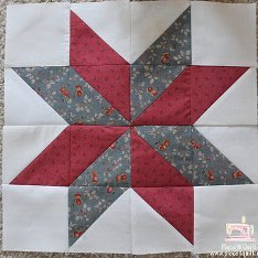 Lemoyne Star Quilt Block