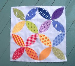 Cathedral Windows Quilt Block