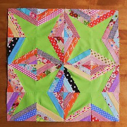 String Star Quilt Blocks