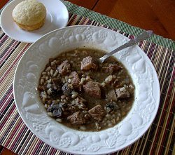 Grammy's Homestyle Beef and Barley Soup