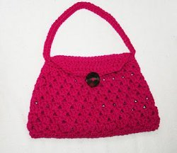 Stylish Crochet Handbag