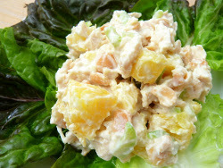 Healthy Tropical Chicken Salad