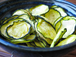 Healthy Zucchini Chips