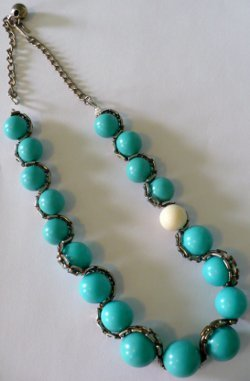 Swiveling Spheres Necklace