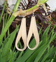 Quick Zipper Loop Earrings