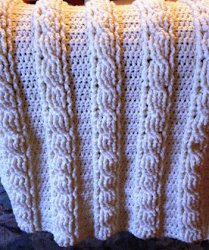 23 Crochet Cable Stitch Patterns Allfreecrochetafghanpatternscom