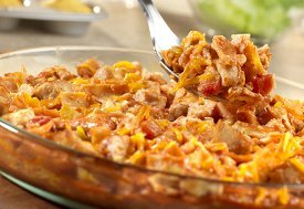 E-Z Chicken Tortilla Bake
