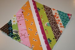 Paper Pieced String Quilt Block