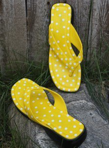 Polka Dotty Sandals