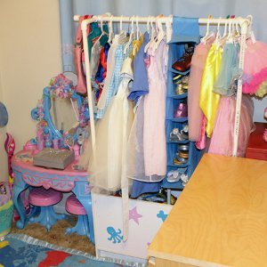 PVC Dress Up Rack