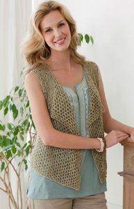 475a01be Only the Best: Knitted Vests for Women | AllFreeKnitting.com