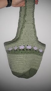 Lilac Meadows Hobo Bag