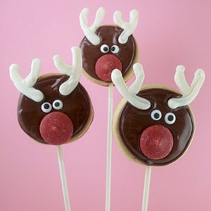 Rudolph the Red Nosed Cookie