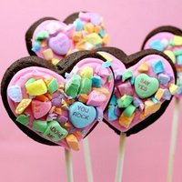 Candy Collage Cookie Pops