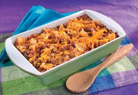 30 Minute Beef 'n Bean Bake