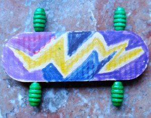 Popsicle Stick Skateboards