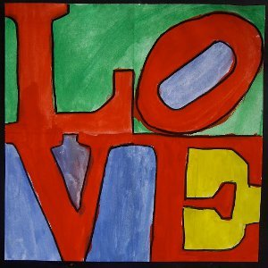Robert Indiana's LOVE Card