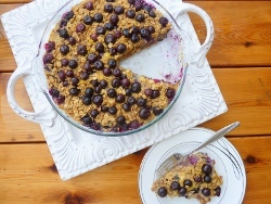 Blueberry Oatmeal Bake Recipe