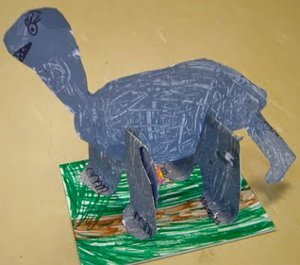 Mesozoic Dinosaur Sculptures