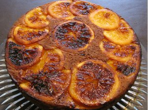 Delicious Upside Down Orange Cake