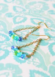 Briolette Trapeze Earrings